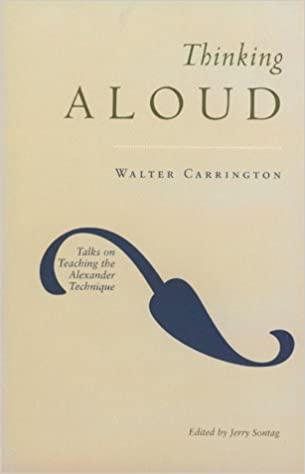 Walter Carrington Thinking aloud Directing Sketchnoted